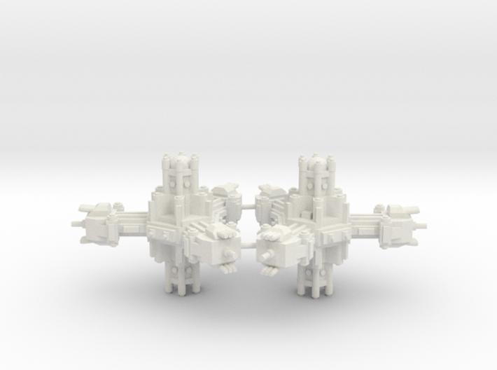 Plataforma de defensa planetaria C 3d printed