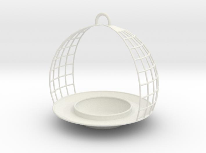 Birdfeeder 3d printed