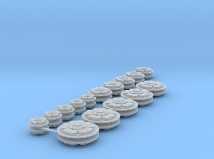Commission 68 Icons various sizes 3d printed