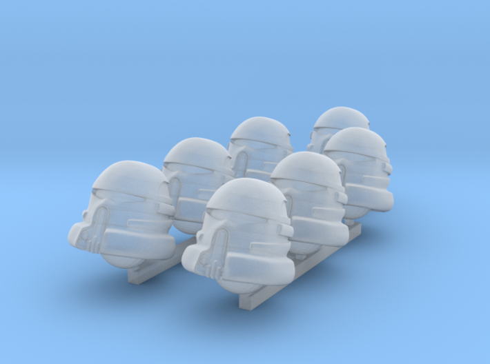 Evictor heads 3d printed