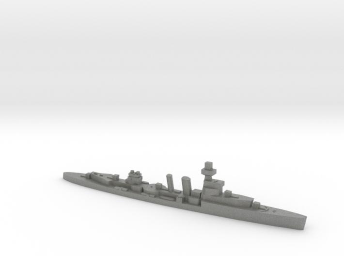 HMS Cardiff 1939 1:1800 WW2 cruiser 3d printed