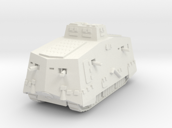 A7V Tank 1/120 3d printed