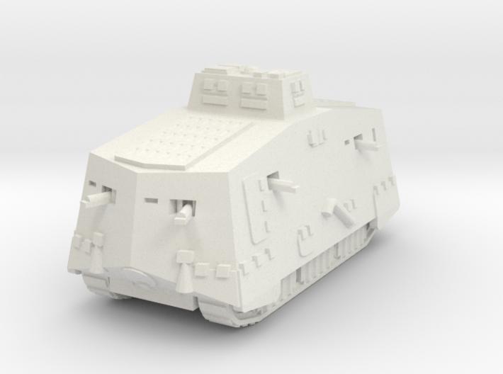 A7V Tank 1/160 3d printed
