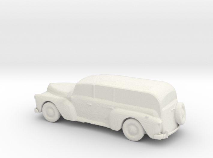 S Scale Woody Wagon 3d printed This is a render not a picture