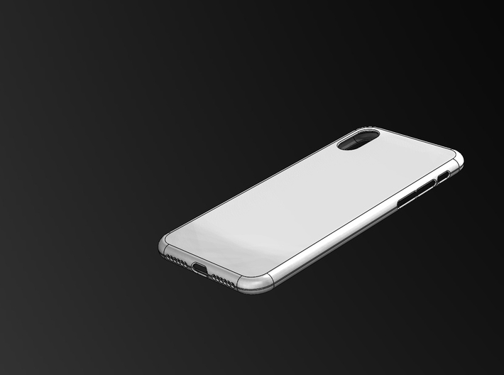 iphone X Case 3d printed