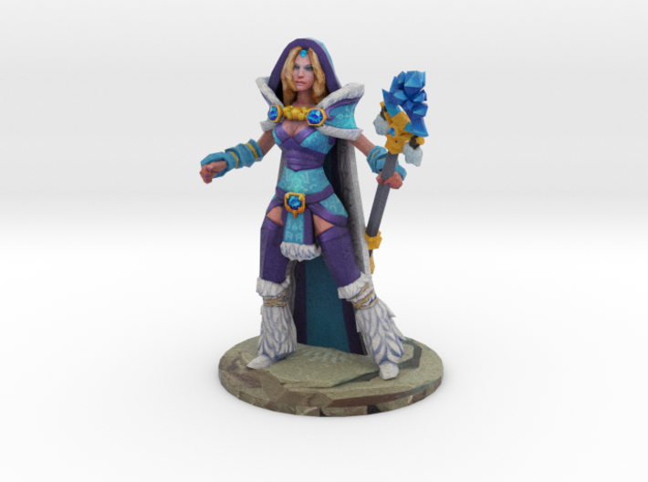 Crystal Maiden Posing on Ward Spot 3d printed