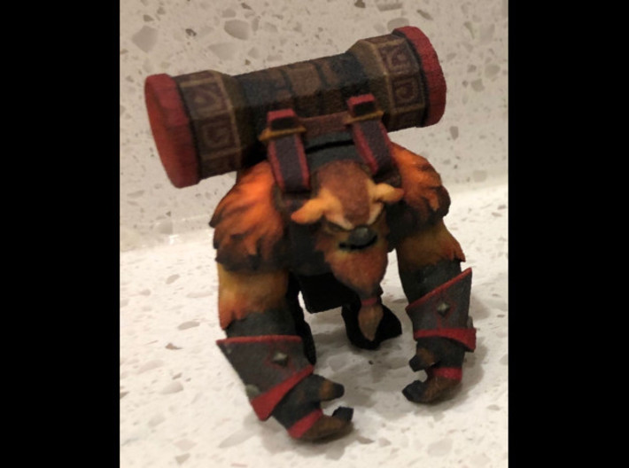 Earthshaker Default Pose 3d printed Front profile