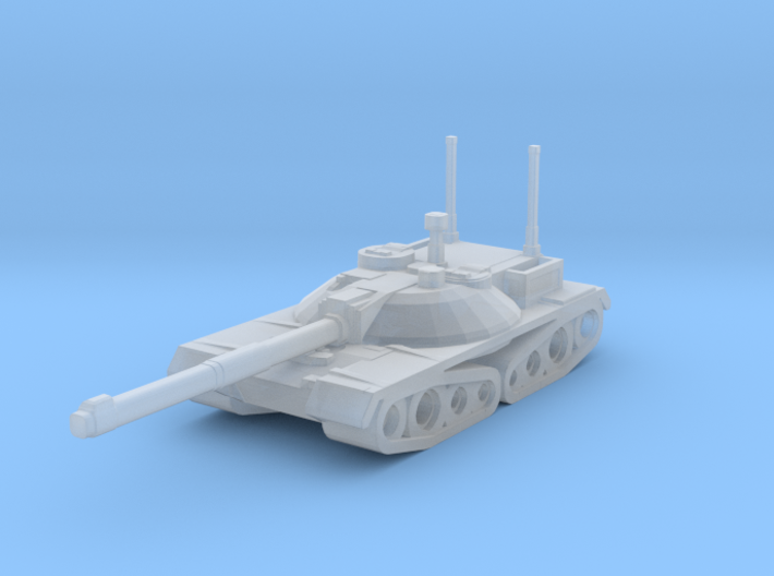 Thunder Main Tank 3d printed