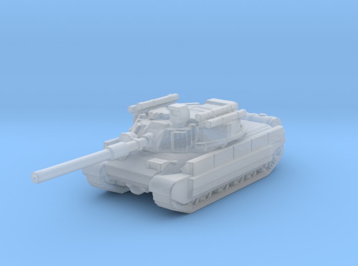 Bastion Battle Tank 3d printed