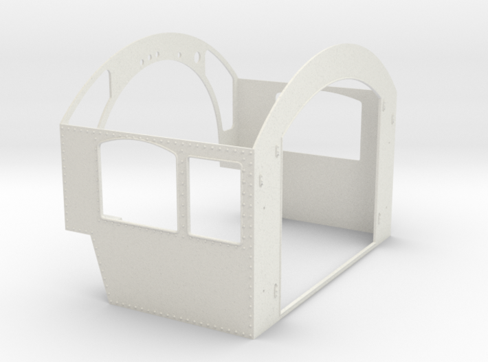 G Scale reading T1 Cab Assembly 3d printed