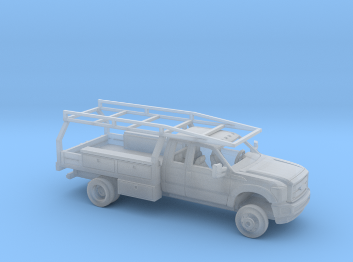 1/160 2011-16 Ford F Series Ext Cab Contractor Kit 3d printed