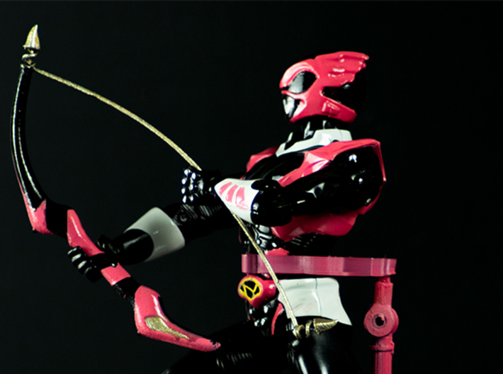 Psycho Pink Accessory - Power Rangers 3d printed