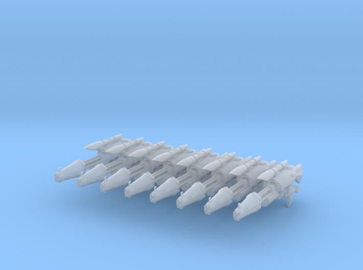 Shadow Pattern Blaster (8) 3d printed