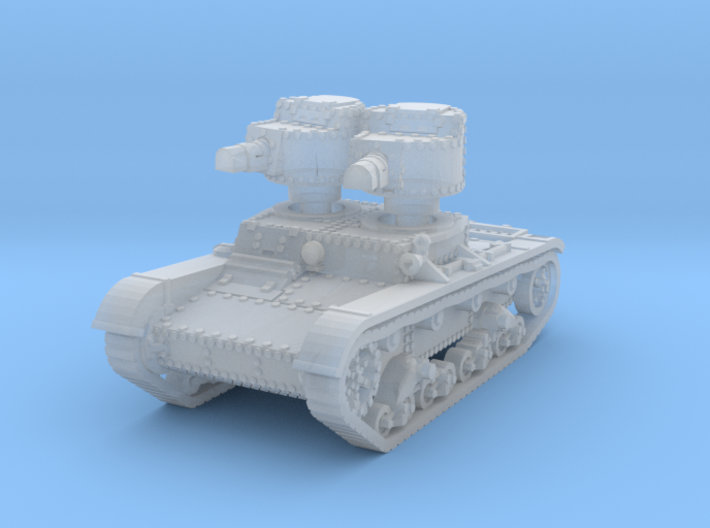 T 26 A Tank scale 1/285 3d printed