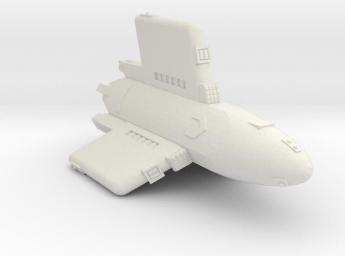 3125 Scale Hydran Pegasus Carrier CVN 3d printed