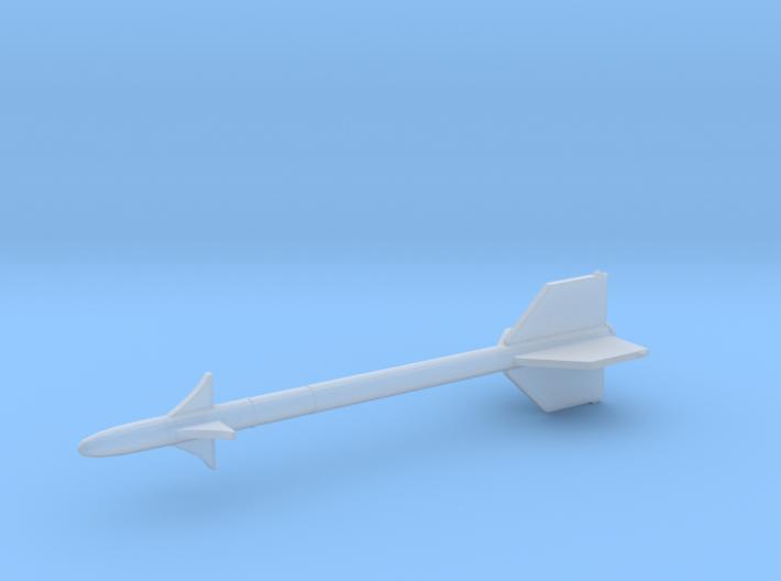 1:24 Miniature AIM-9 Sidewinder Missile 3d printed
