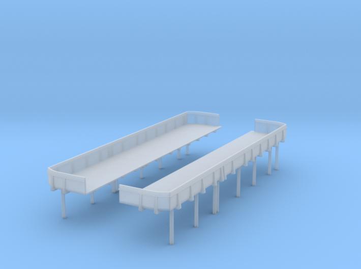 1/192 USN midship 1st deck 20mm x5 tub Set 3d printed