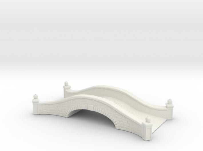 Stone road bridge 1/100 3d printed