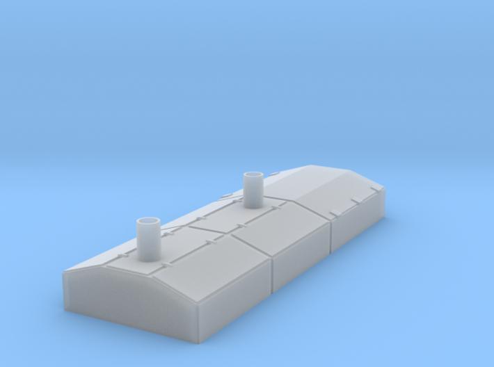 O Scale EMD Switcher Hood 3d printed