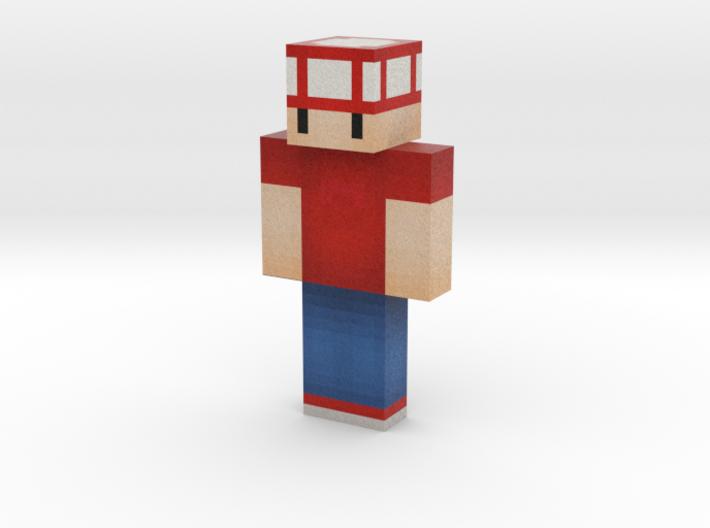 RubyTuxxe | Minecraft toy 3d printed