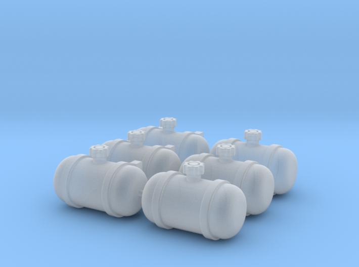 Set of 6 - Gasser Fuel Tanks 3d printed