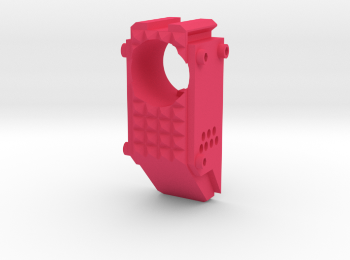 Swordfish Front End (Short) for Nerf Retaliator 3d printed