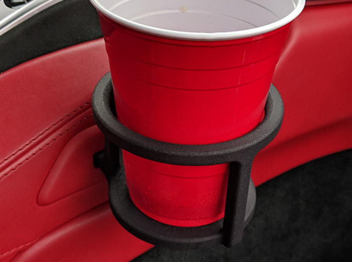NSX Cup Holder 3d printed Cupholder installs into the  stock location