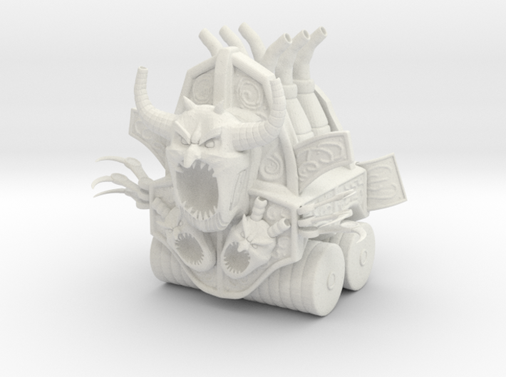 Hellfire Engine 3d printed