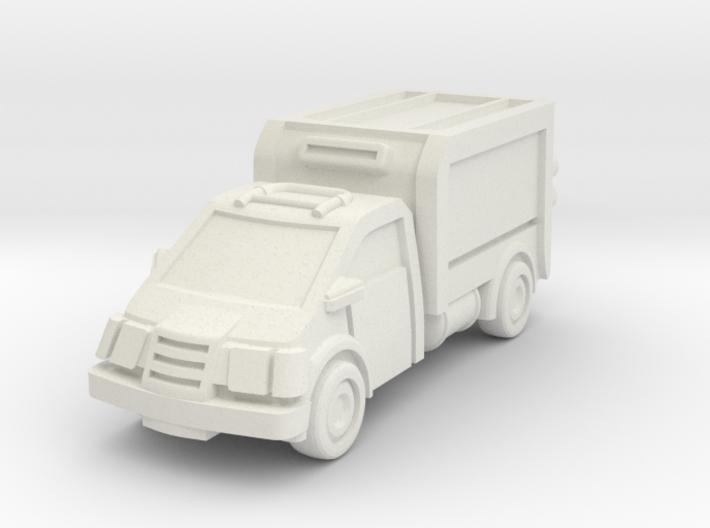 Box Truck 3d printed