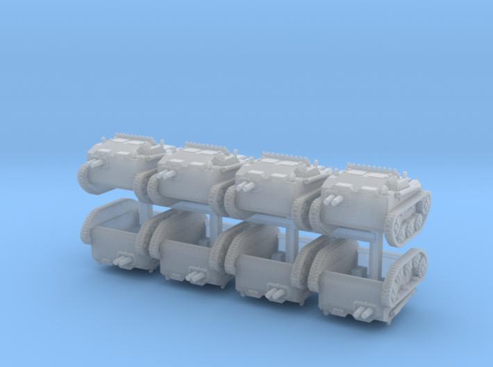 51Omen Tankette 6mm x8 3d printed