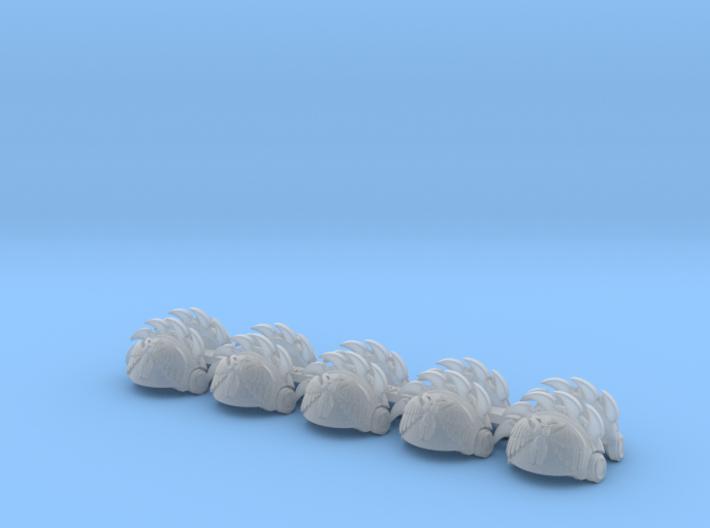 5x Hedonists - T:3c Tartaros Shoulder Sets 3d printed
