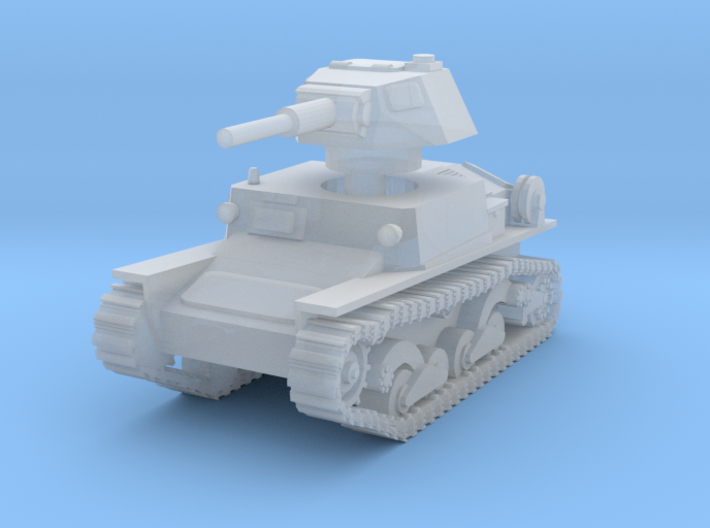 L6 40 Light tank 1/200 3d printed