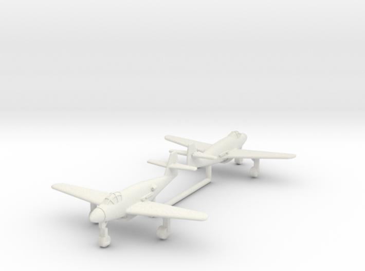 (1:200)(x2) Messerschmitt Me 509 3d printed