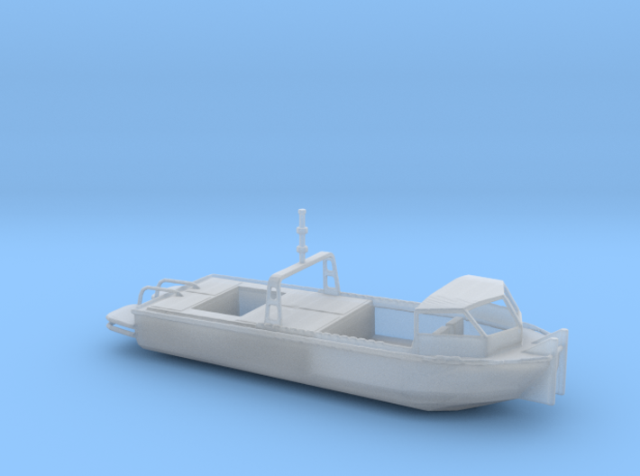 1/100 Scale Army Bridge Erection Boat 1984 With Ca 3d printed