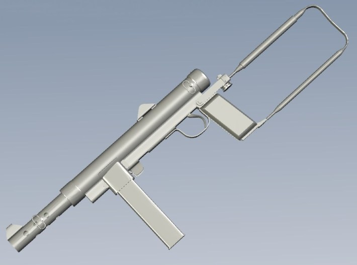1/16 scale Carl Gustav M-45 submachineguns x 3 3d printed