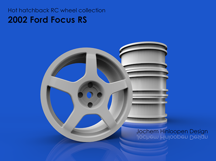 2002 Ford Focus Rs 110th Rc Wheel 99as376gj By Hinloopen