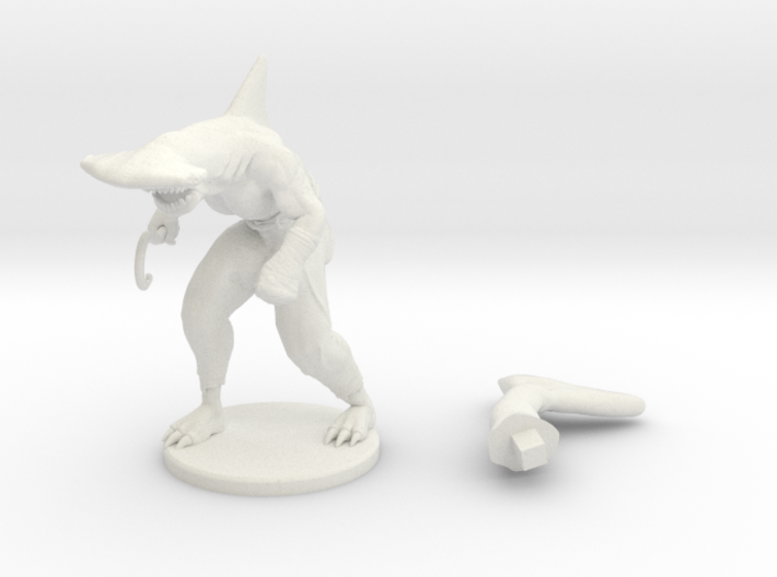 Wereshark 3d printed