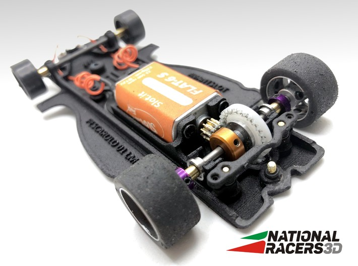 3D Chassis - AVANT SLOT Pescarolo 01 LMP1 (In-AiO) 3d printed