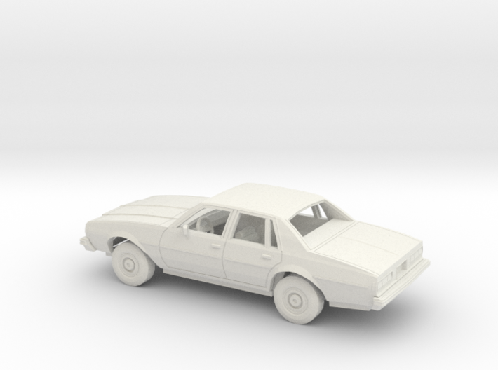 1/25 1977-78 Chevrolet Impala Sedan Kit 3d printed