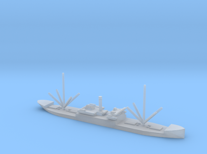 1/2400 Scale 7300 Ton Steel Cargo Steamer 3d printed