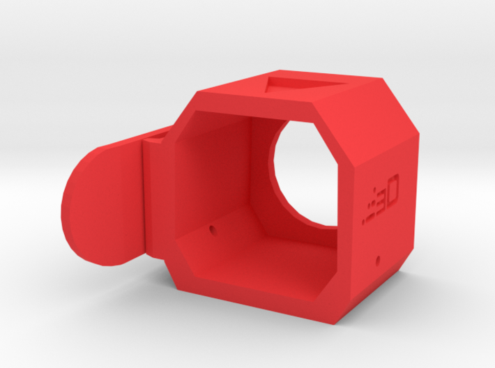 MOLLE Stock Holster for Nerf Modulus (Left Handed) 3d printed