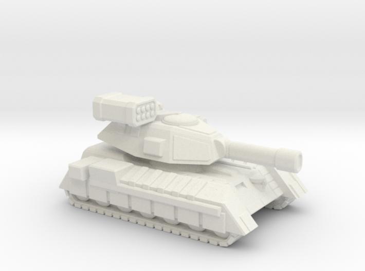 Terran Main Battle Tank, 1-piece. 3d printed
