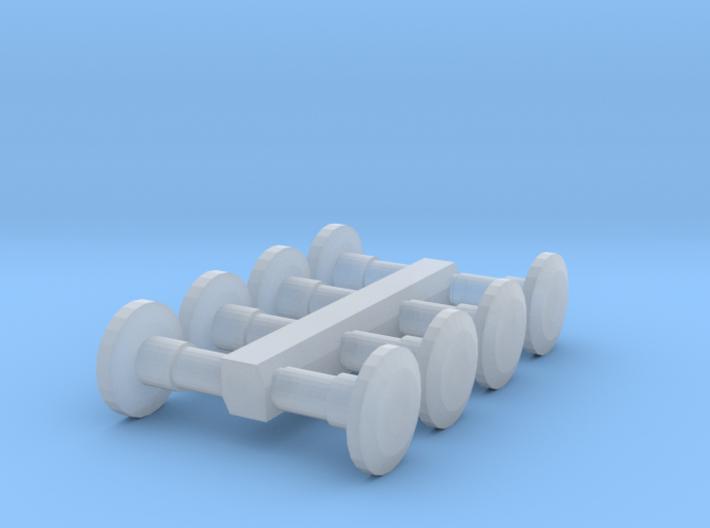 8 Ersatzpuffer (N 1:160) 3d printed