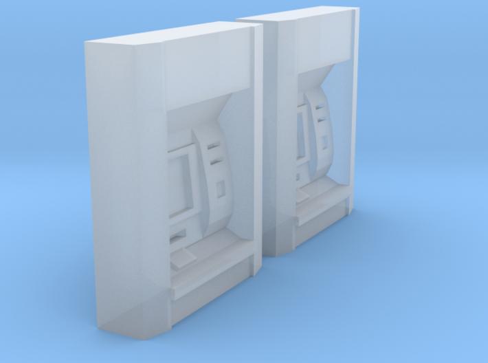2x ATM (N 1:160) 3d printed