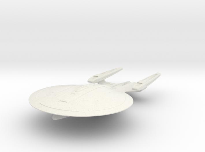 """Sojourner Class BattleCruiser 6"""" 3d printed"""