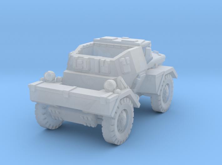 Daimler Dingo mk1 (open) 1/220 3d printed