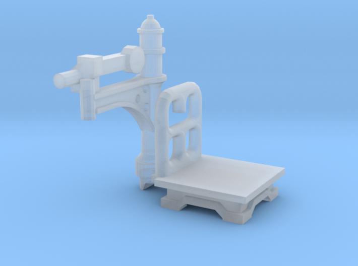 Bahnhofswaage (N 1:160) 3d printed