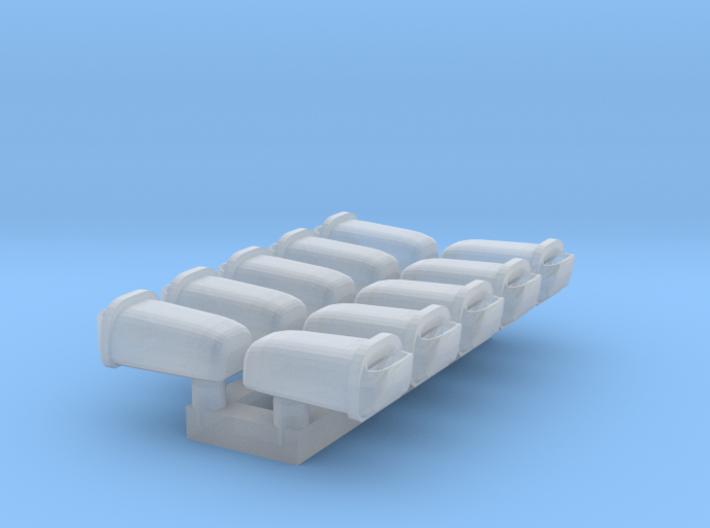 10 Abfallbehälter (TT 1:120) 3d printed