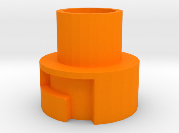 Modulus Barrel Adapter for Nerf Disruptor 3d printed