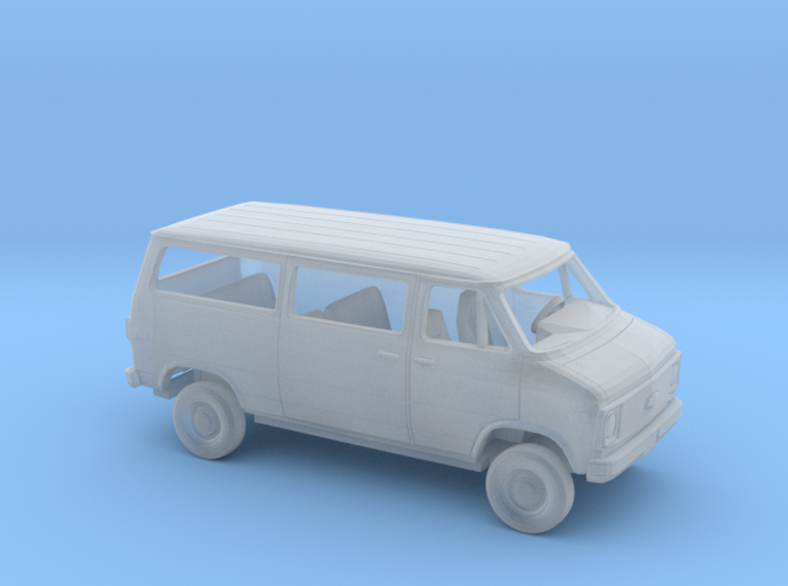 1/160 1971-77 Chevrolet G -Van SlidingSideDoor Kit 3d printed